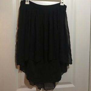 American Eagle outfitters pleated mini skirt